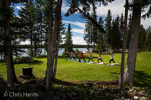 Canada, British Columbia, Chilcotin region, yoga retreat, The Dean on Nimpo Resort,