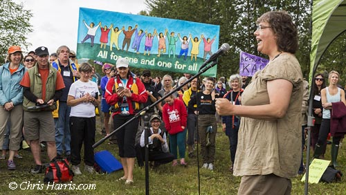 Canada, British Columbia, Site-C protest, Paddle for the Peace, environment, Peace River Valley
